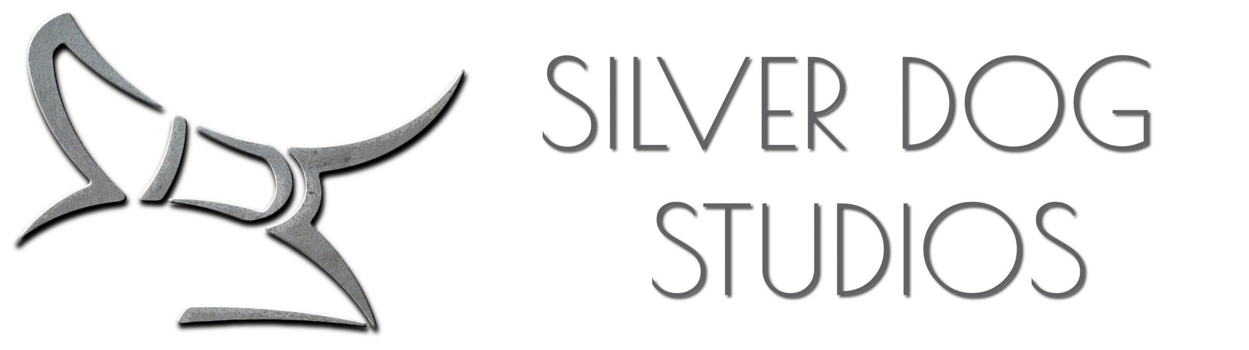 silver dog studios logo and name